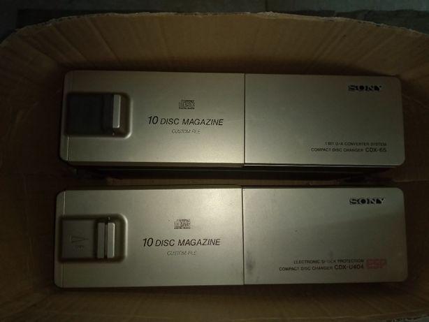 Sony - Duas caixas de 10 CD´S cada