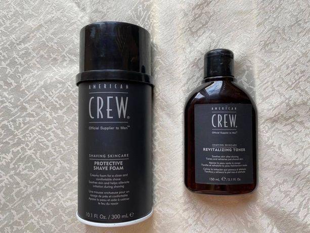 American Crew (shaving skincare) пенка и лосьон (средства для бритья)