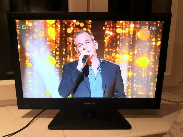 "Telewizor Manta 22"" DVB-T *HDMI*USB* + pilot"
