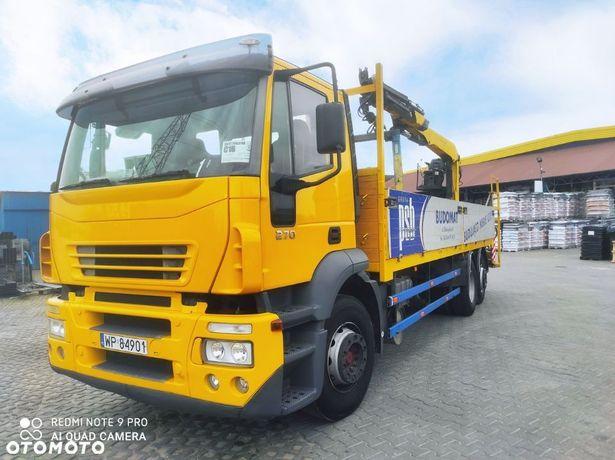 Iveco  Sprzedam Iveco z HDS Palfingier PK12001L rejestracja 2005