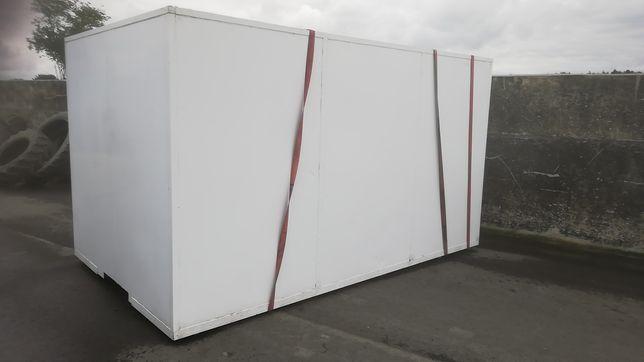 Kontener sanitarny barakowóz