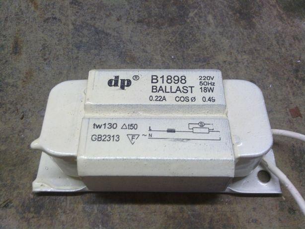 30 Balastros Electronicos DP 220V/50Hz 18W