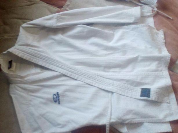 Куртка и пояс на КАРАТИСТА!120 см