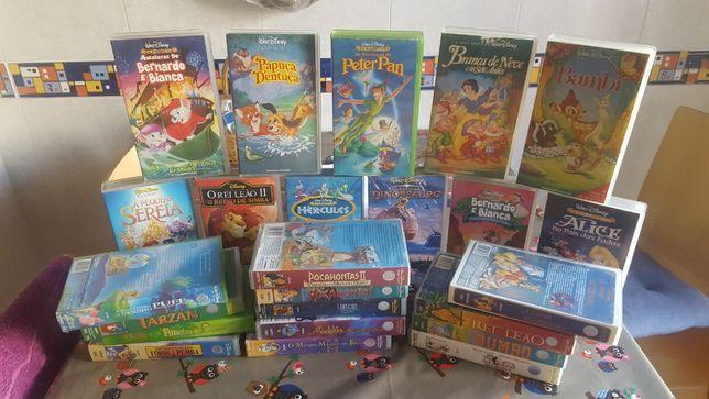 Filmes infantis - VHS Cassetes