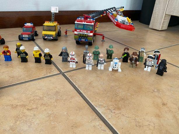 Karton klocków Lego (Lego City, Lego StarWars, Lego Indiana Jones)