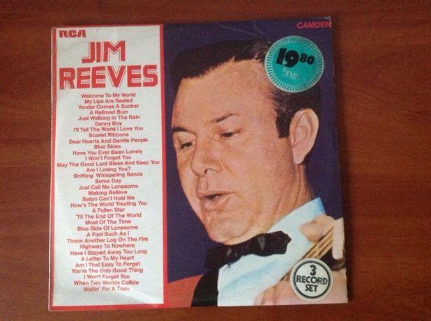 Jim Reeves - potrójny album Winyl