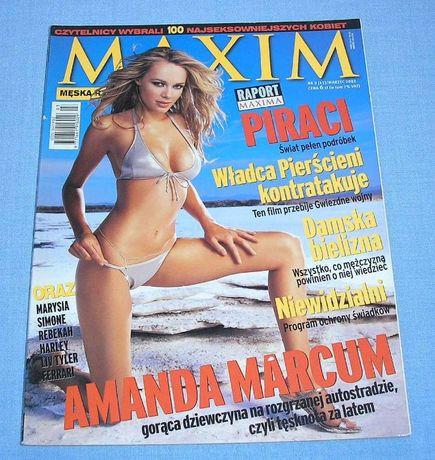 Amanda Marcum Maxim 2002