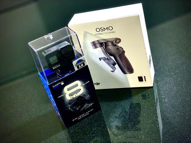 Gopro Hero 8 Black 128gb + case zestaw