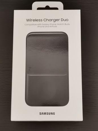 Samsung Carregador sem Fios Duplo Black