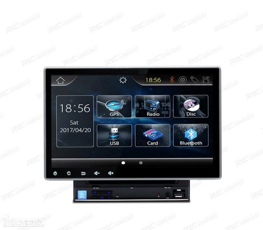 "AUTO RADIO 2DIN GPS 10"" HD TÁCTIL BLUETOOTH USB SD"