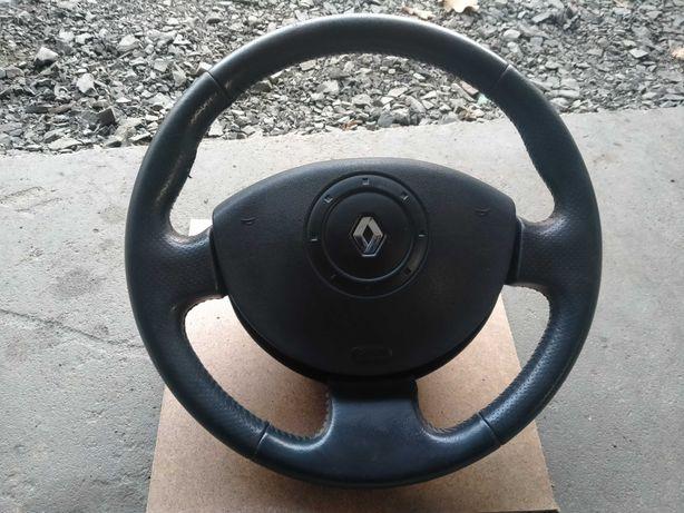 Kierownica skórzana Renault scenic II