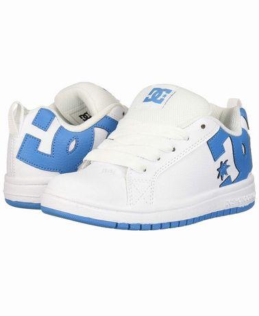 Кожаные кроссовки Dc shoes р. 35 ст. 22,6 puma nike adidas