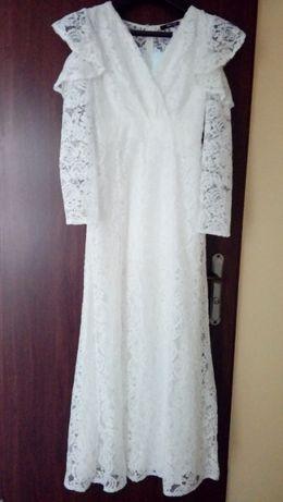Biała sukienka rozm. 36/38