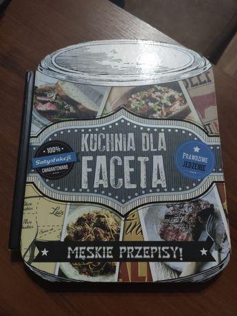 Książka kuchnia dla faceta męskie przepisy kulinarna