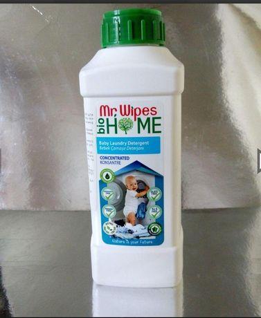 Еко хімія. Рідкий пральний порошок для дитячих речей.
