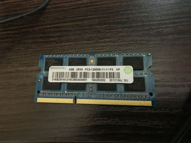 Память для ноутбука DDR-3 4GB