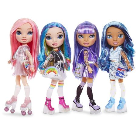 Poopsie Rainbow Girls Радужная Розовая Леди Rainbow Dream Pixie Rose