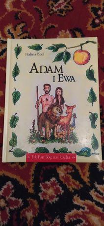Książka Adam i Ewa  Halina Błaż