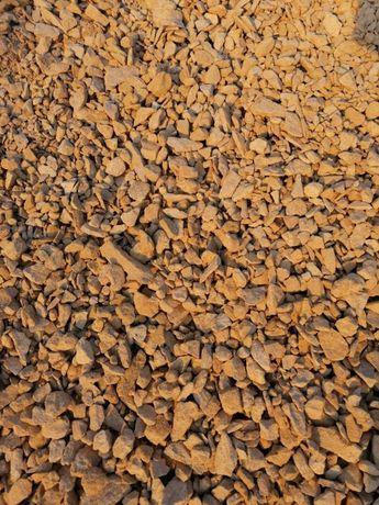 Kamień dolomit Kruszywo żółte ogrodowe kremowe