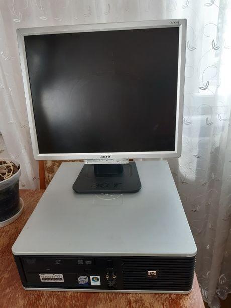 Системний блок (комп'ютер) та Монітор