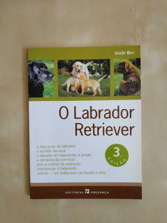 Livro para aprender tudo sobre o cão labrador retriever