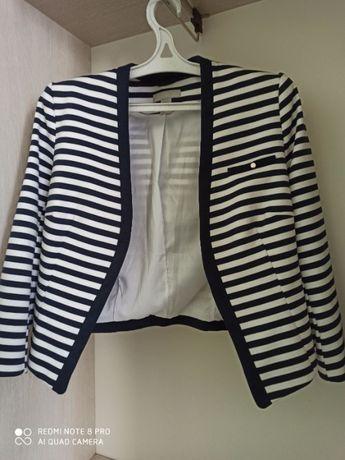 H&M пиджак с морском стиле