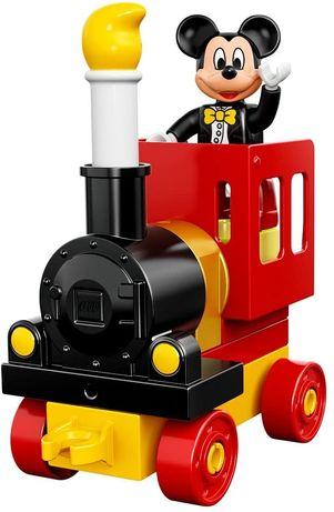 Конструктор LEGO Duplo Праздничный поезд Микки и Минни
