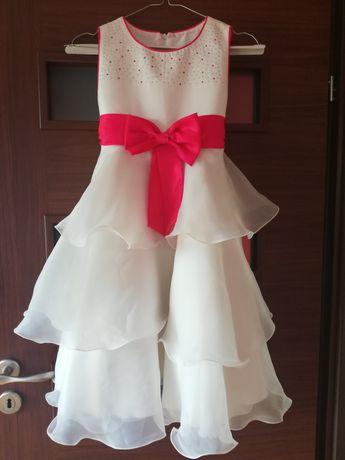 Sprzedam czerwoną sukienkę dla dziewczynki
