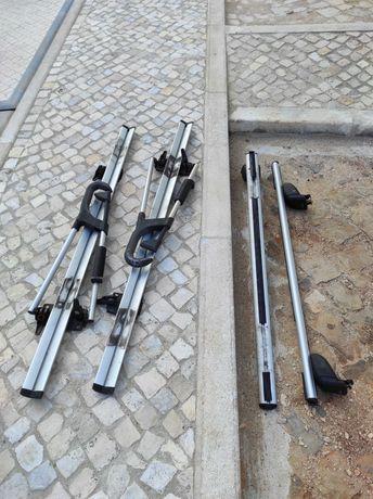 Barras  e suportes para bicletas