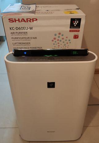Oczyszczacz powietrza Sharp KC-D60EU-W