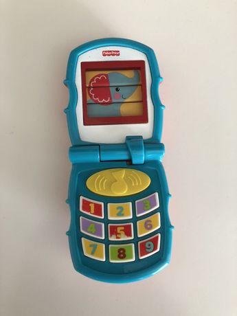 Fisher Price pierwszy telefon