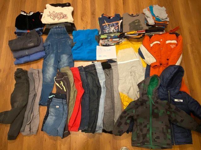 Ubrania chłopięce, pakiet, 5-6 lat 110-116 używane Tarnów - image 1