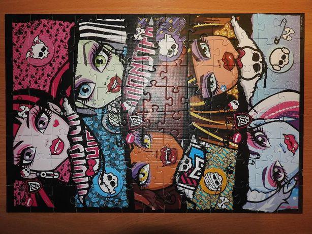 Puzzle Monster High firmy Trefl 100 el.