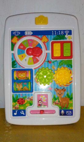 Детский развивающий Бизи планшет Shantou