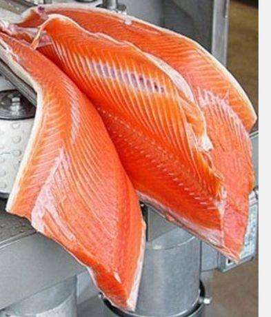 Филетировочная машина для рыбы лосось тунец толстолобик сёмга форель