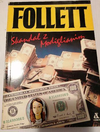 Follett książka sensacyjna Skandal z Modiglianim