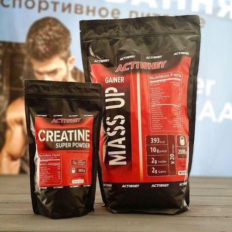 Мега Масса! Гейнер 2 кг+Креатин (Польша). Протеин,ВСАА