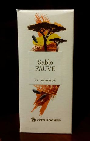 Yves Rocher Sable FAUVE, 100ml EDP - Woda perfumowana - przesyłka 1 zł
