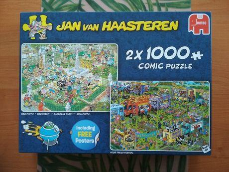Puzzle Jan Van Haasteren 2x1000 różne