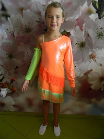 костюм танцевальный для девочки 10-15 лет