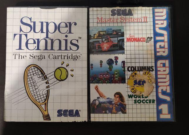 Jogo Sega Master System - Super Tennis
