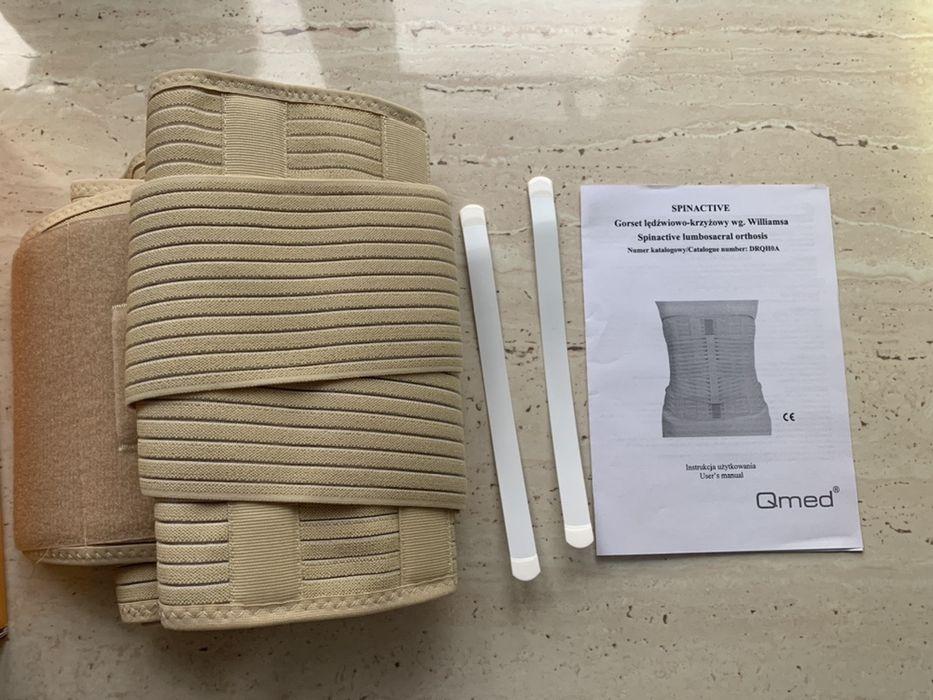 Pas ortopedyczny sznurówka lędźwiowo krzyżowa Qmed Radzionków - image 1