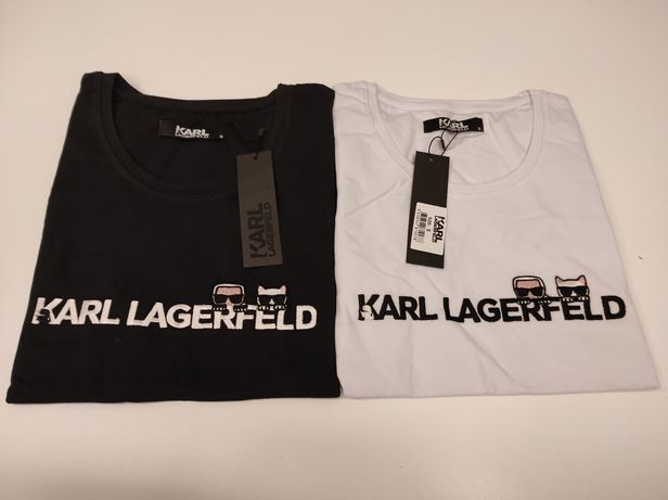 Koszulka Karl Lagerfeld Haft Outlet Nowość S-XL
