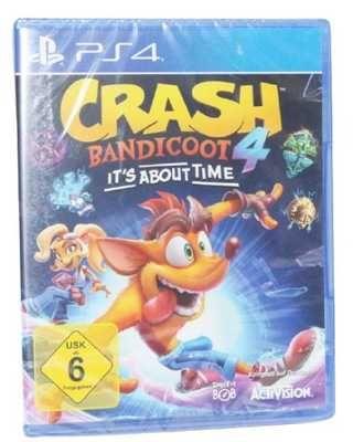 Crash Bandicoot 4 Najwyższy Czas PS4 Sklep z Grami Vimagco PROMOCJA