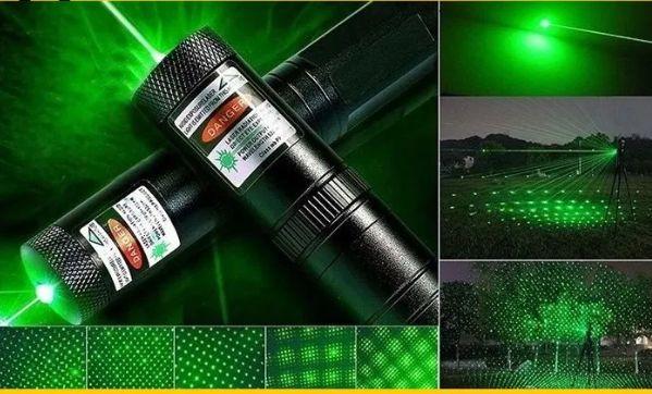 Фонарь-лазер зеленый