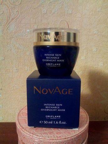 Крем Ночная маска для лица NovAge Oriflame