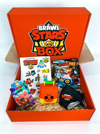 """Набор Brawl Stars Box Бравл Старс Бокс """"Мега Ящик сундук игрушка"""