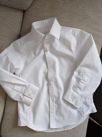Biała wizytowa koszula 98