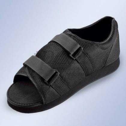 Sapato Pos-cirurgico sem tacão