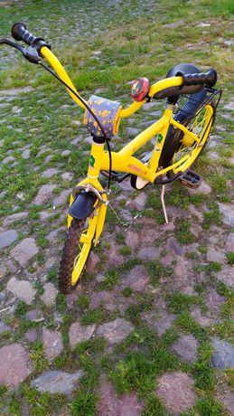Rower 16' Dino (żółty)
